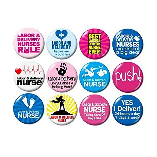 nurse buttons pins