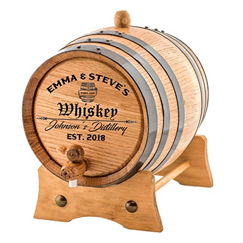 oak aging barrel