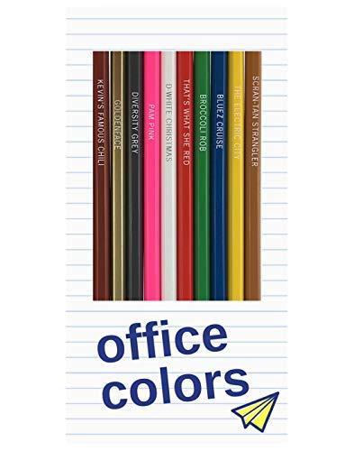 office colors pencils