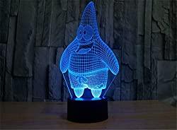3D nightlight LED