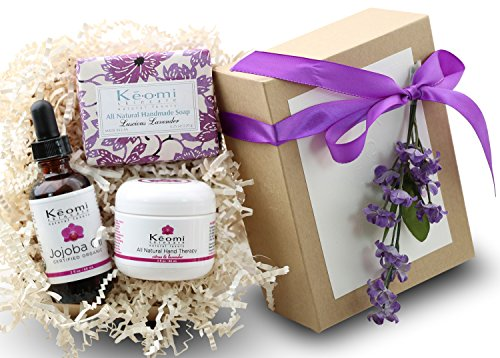 organic bath and body set