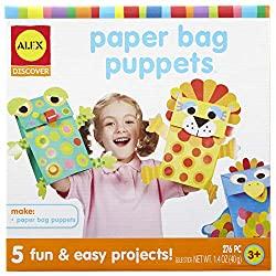 paper bag puppets craft kit