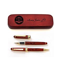 pen and pen case set