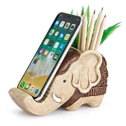 pen holder with phone stand