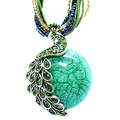 pendant opal necklace