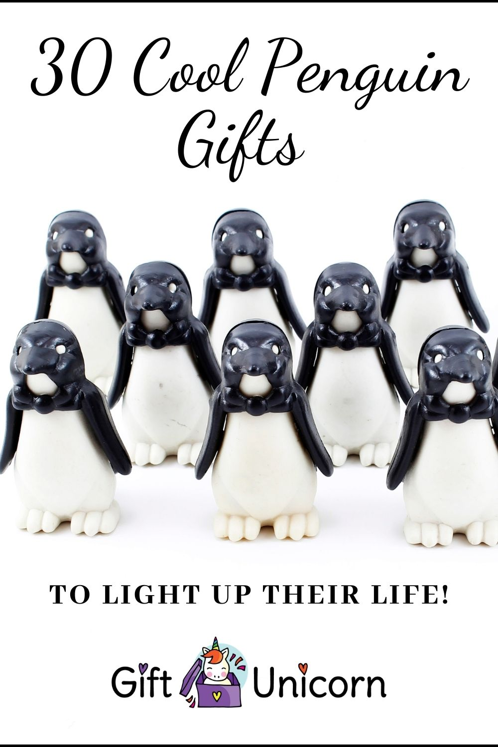penguin gifts pin image