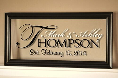 personalized decoration frame