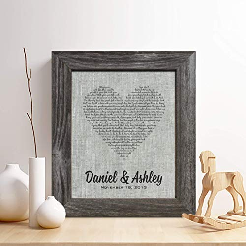 personalized linen gift
