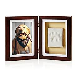 pet pawprints picture frame