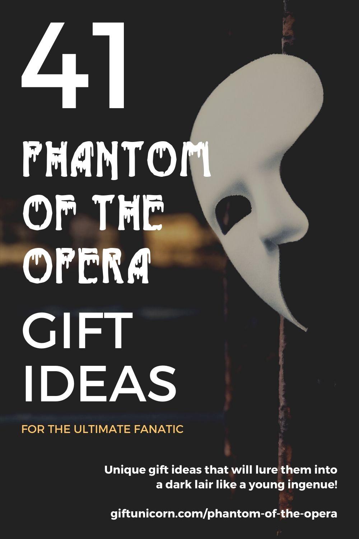 41 phantom of the opera gift ideas pin image