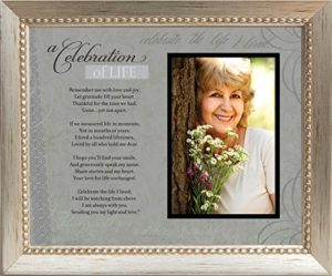 photo frame with poem