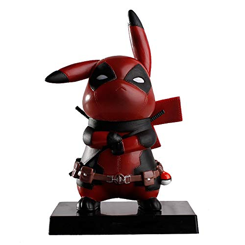 pikachu cosplay deadpool model