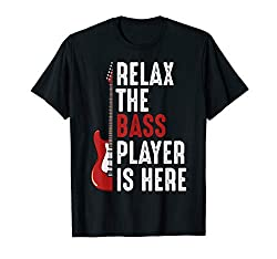 bass player is here T-shirt