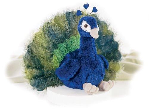 plush peacok