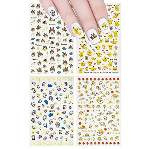 pokemon nail stickers