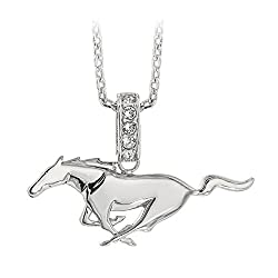 pony logo necklace