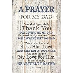 prayer wood plaque