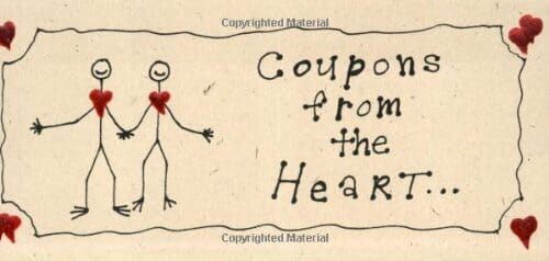 present coupons from the heart