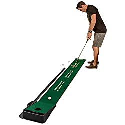 pro indoor putting green with ball