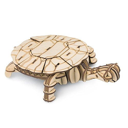 puzzle wood craft kit model