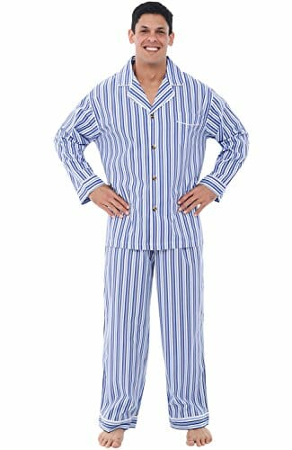 man in his pyjamas