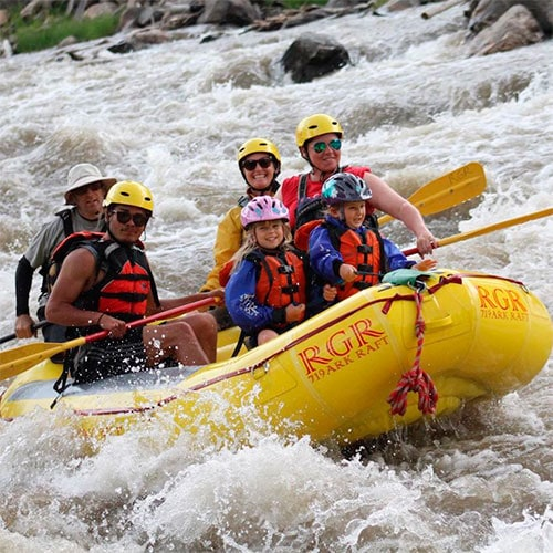 rafting and bighorn whitewater