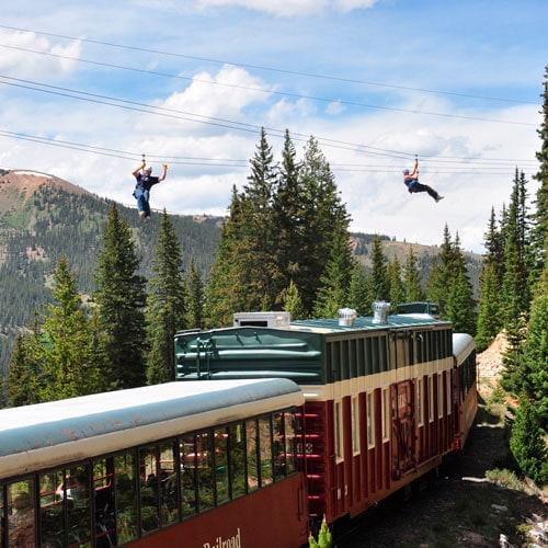 railway and zip line tour