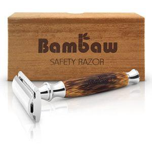 razor with bamboo handle