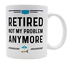 retired coffee mug