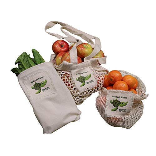 reusable bags set
