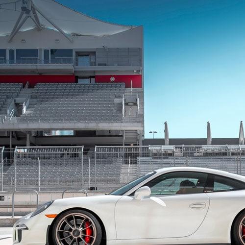 ride a Porsche