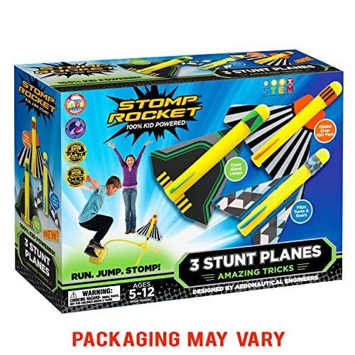 rocket stunt planes