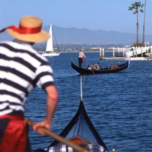 romantic gondola cruise