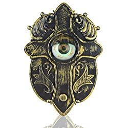 rustic eyeball doorbell