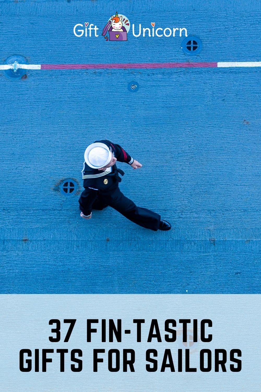 37 Sailing presents pin image