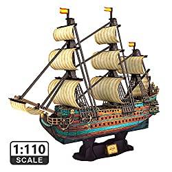 San Felipe 3D model ship kit