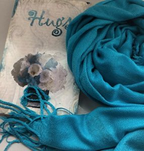 scarf and card gift set