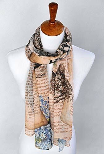 scarf on a mannequin