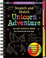 scratch and sketch creative art book