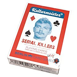 serial killers card desk