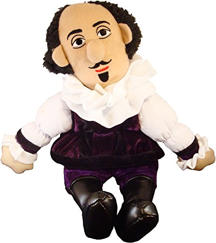 shakespeare plush doll
