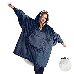 sherpa wearable blanket