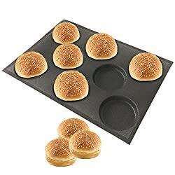 silicone hamburger bread forms