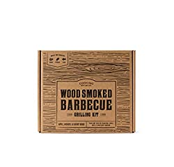 smoked BBQ grill set