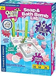 soap and bath bomb lab
