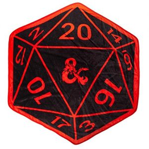 soft shaped D20 throw
