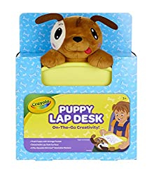 dog plush lap desk