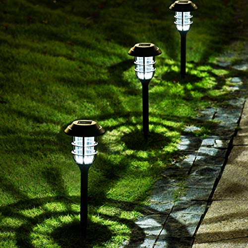 solar pathway lights set