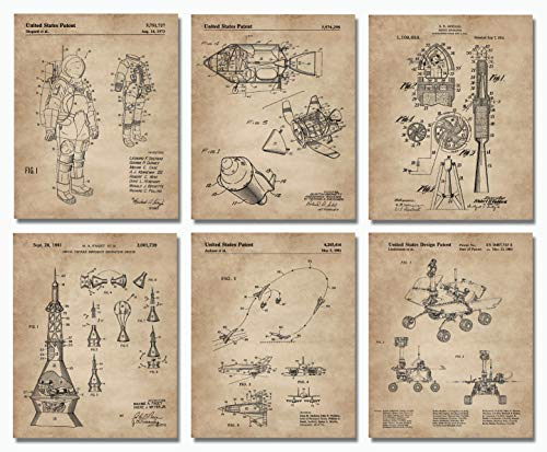 space patent prints