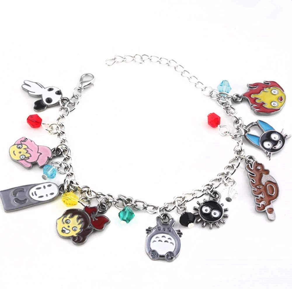 spirited away characters in a charms bracelet